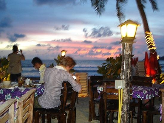 Sunset on Patong Beach