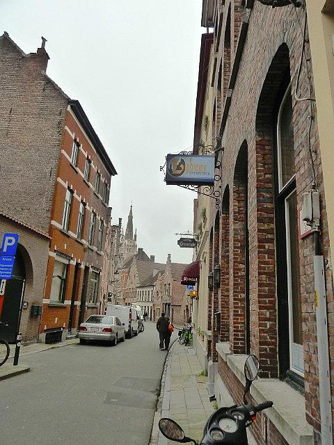My hostel street