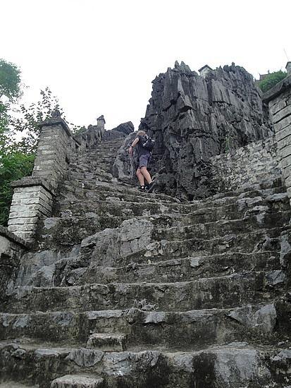 The last really steep bit