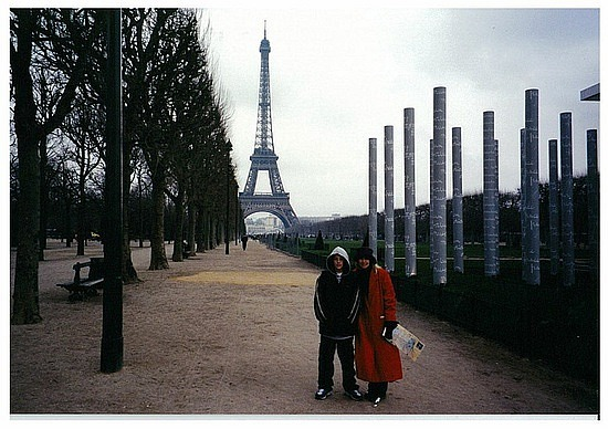 View to Eiffel Tower