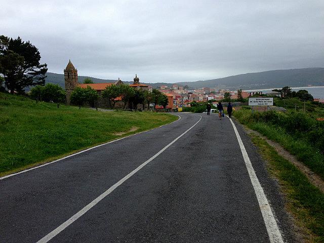 Walking back to town