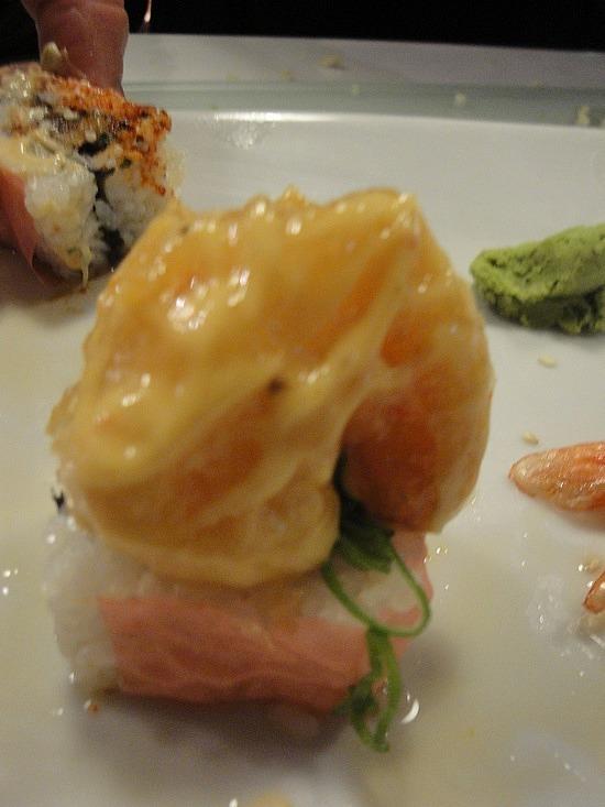 Brads favourite - tempura crab rolls