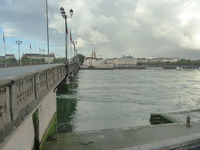 Bridges over the 2 rivers of Bayonne