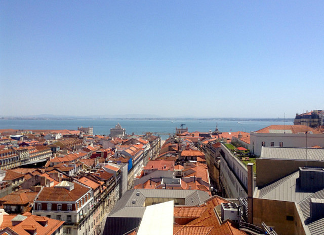 View from Elevador