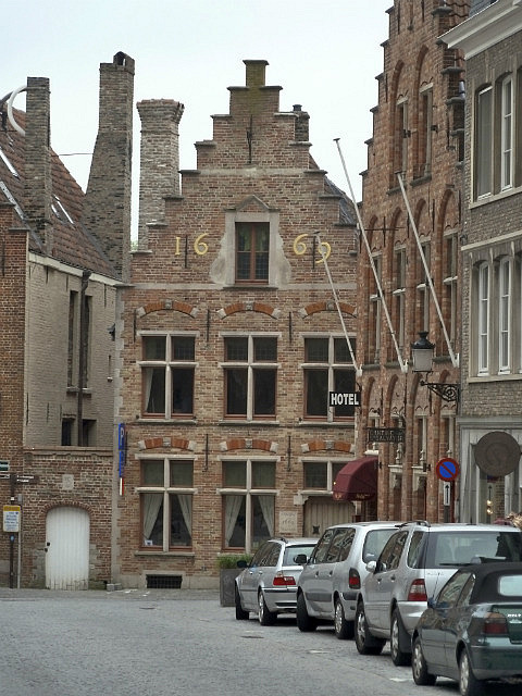 Loved the stepped rooves of Flemish buildings