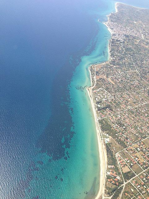 Beautiful water - Greece coastline