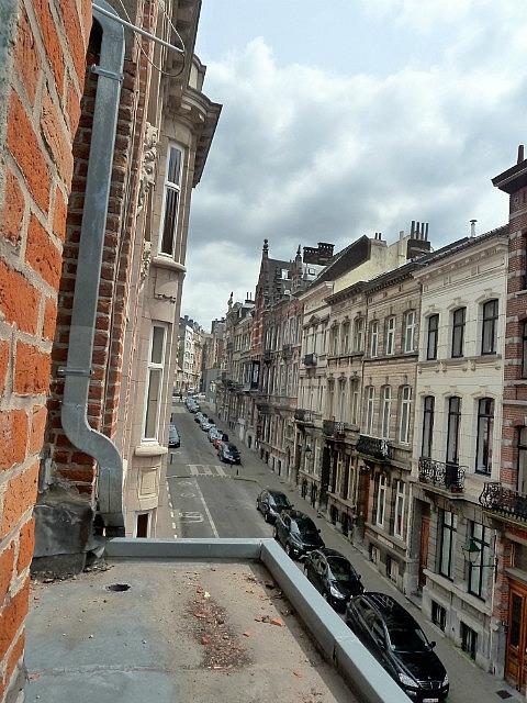 View of hostel street