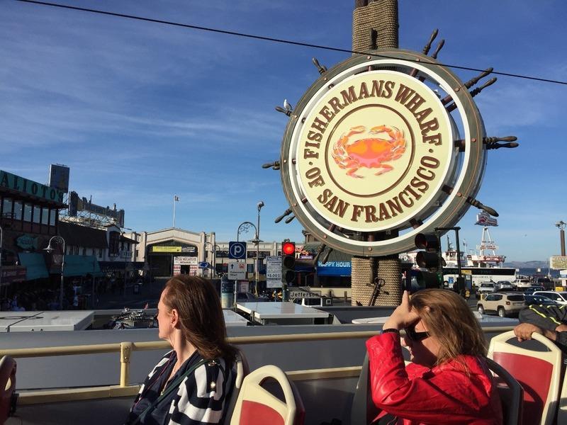 Leaving Fishermans wharf