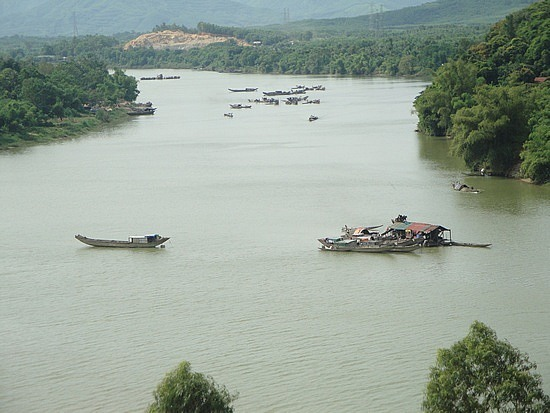 Boats on Perfume River