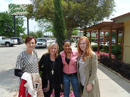 Lunch - Andrea, Me, Karen and Josie