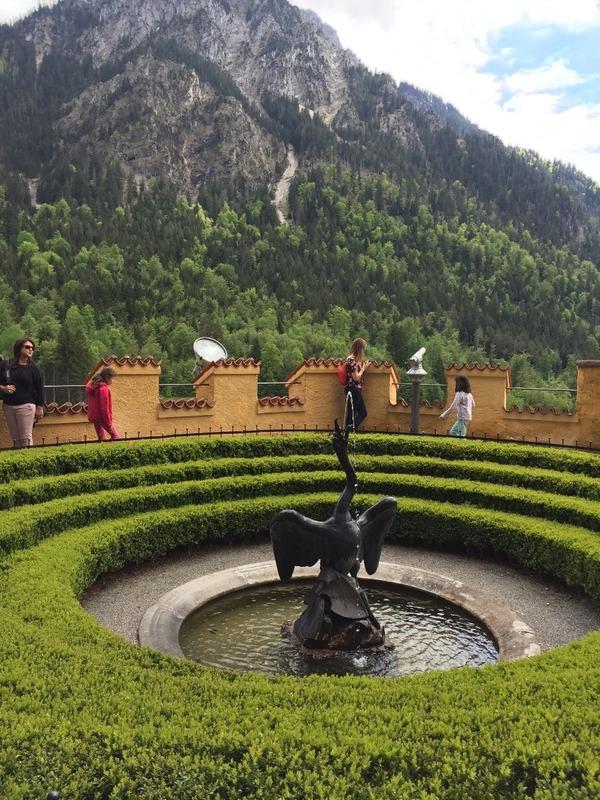 Hohenschwangau Castle gardens