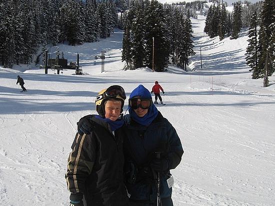 Snowfields at Mt Hood