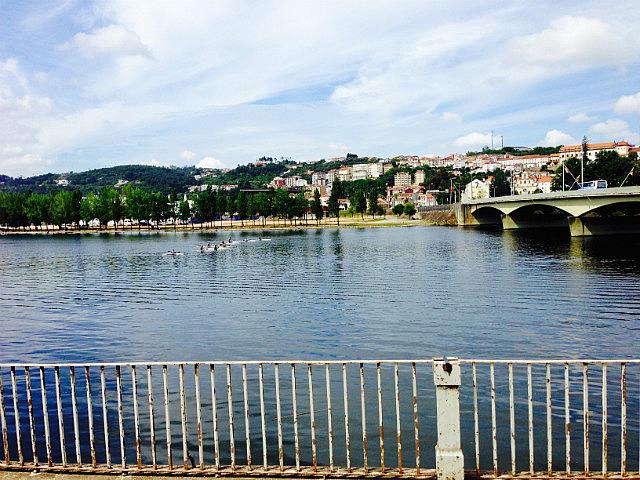 The river through Coimbra