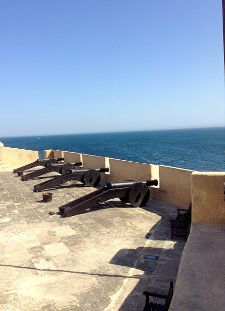 Fort and canons