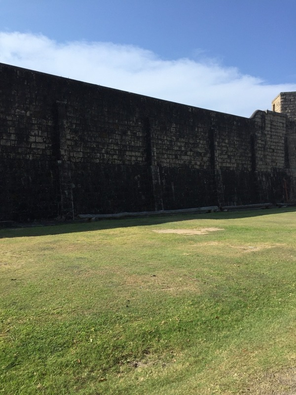 Stonewalls of jail