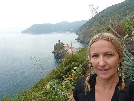 Monterossa in the distance