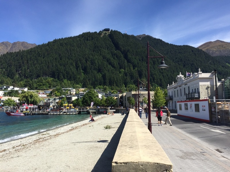 Lake front & cable car hill