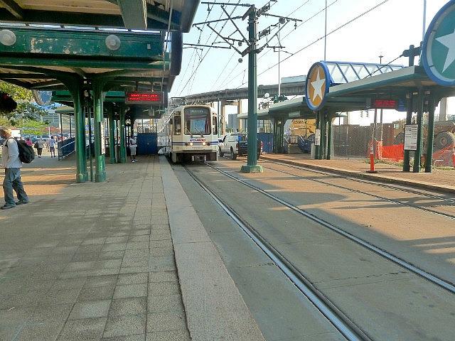Tramline back to the hostel