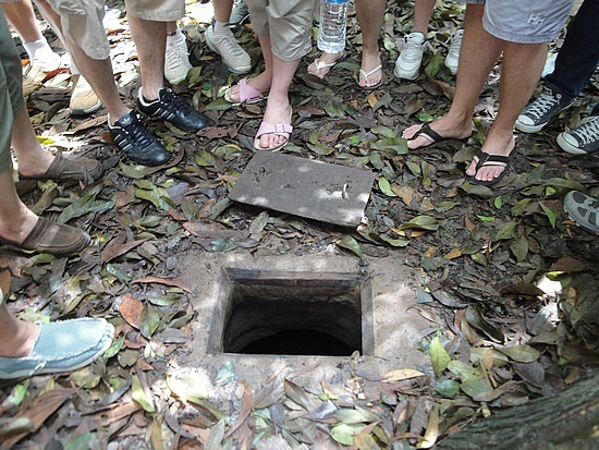 Entrance to Chu Chi Tunnels