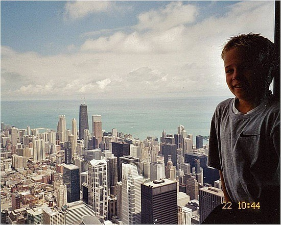 Nick at Sears Tower