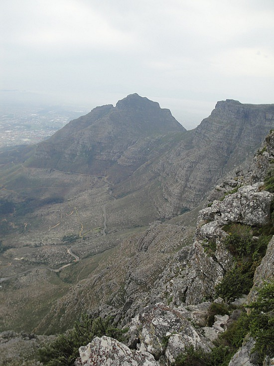 View to Devils Peak