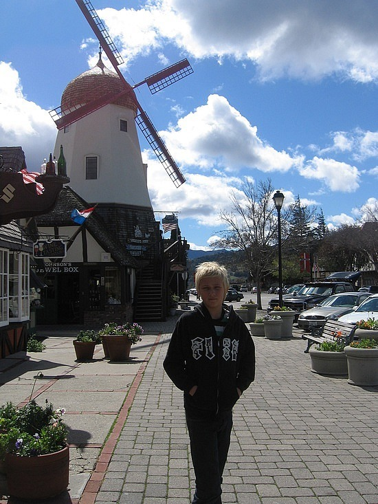 Danish town of Solvang