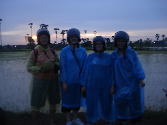 The  4 of us!! - Jean , Jess, Chantee & I
