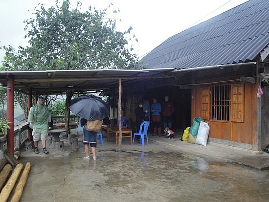 Our homestay house
