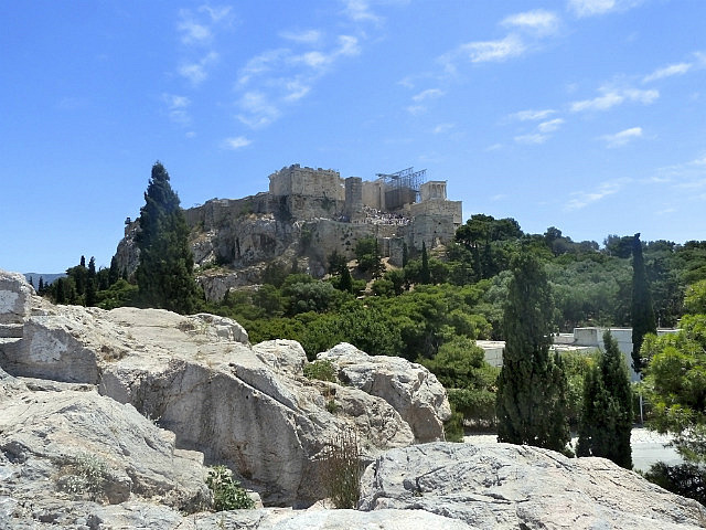 Where Paul preached in the shadow of the Acropolis