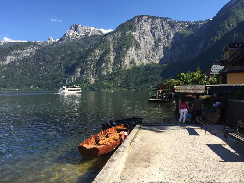 Hallstatt Lake views