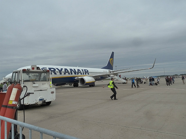 Ryan Air budget airline