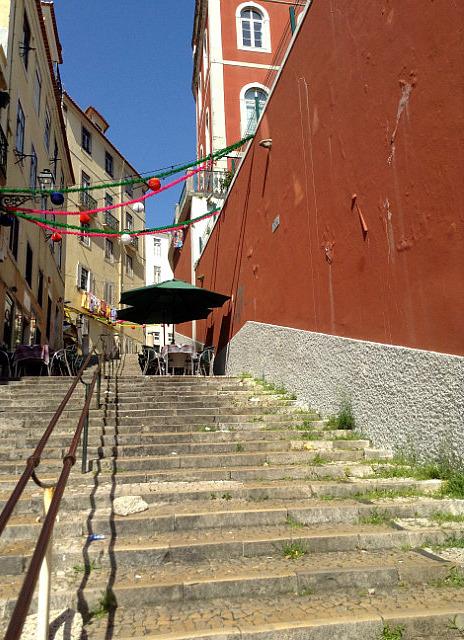 Post festival alleys