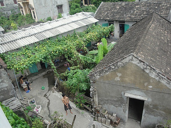 View from our hotel over the alleys