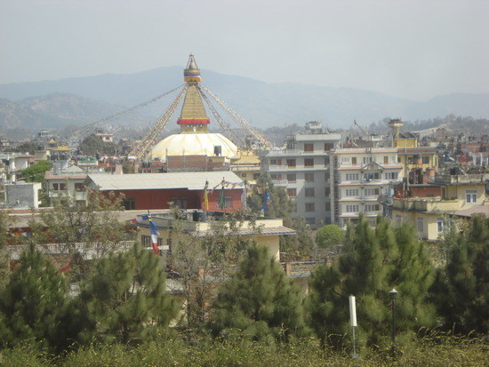 Buddhist Temple from our Hotel room
