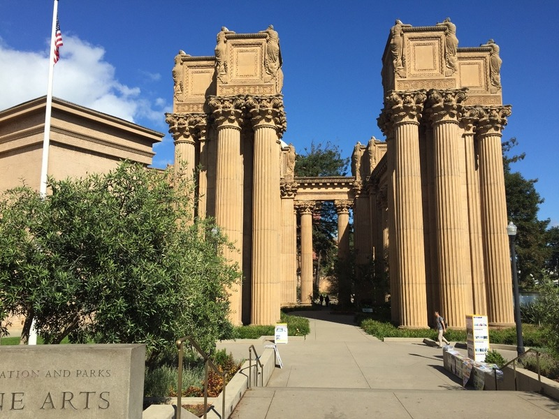 Entry to Palace of Fine Arts