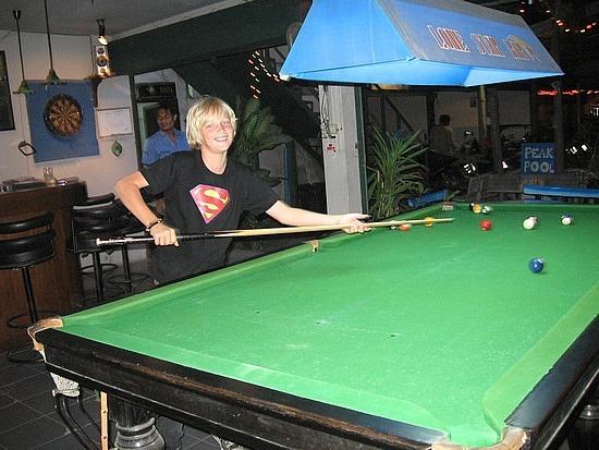 Playing some pool