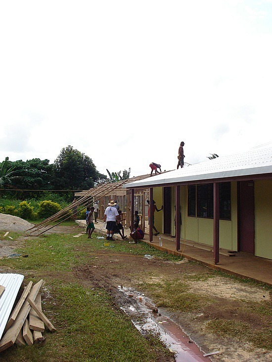 The new classrooms