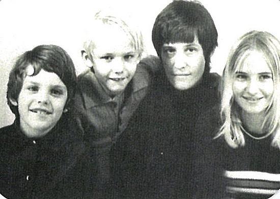 Stephen, Matthew, Mum & I