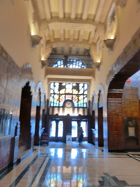 Inside Marine Building - art deco from 1920's