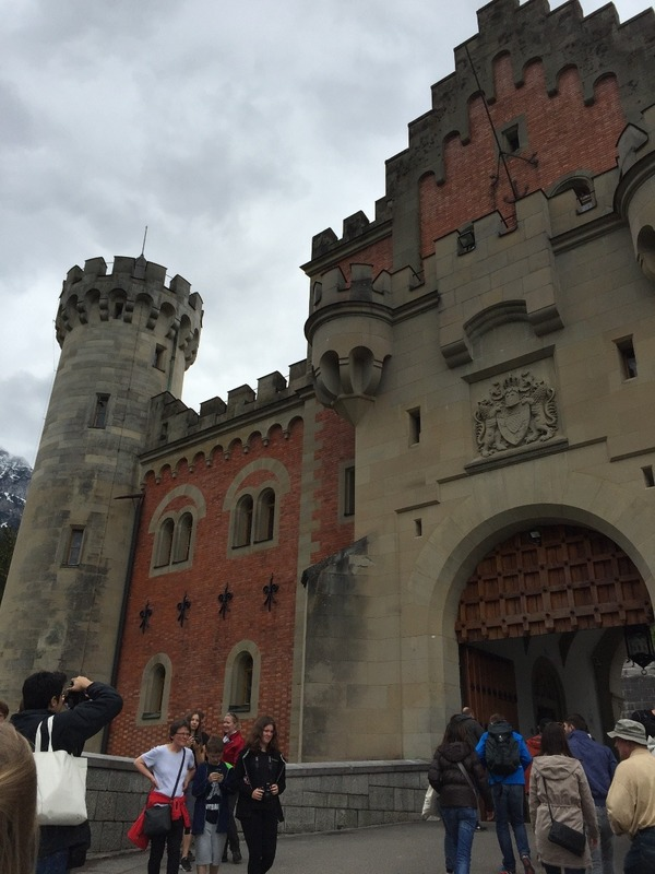 Front of  Neuschwanstein Castle
