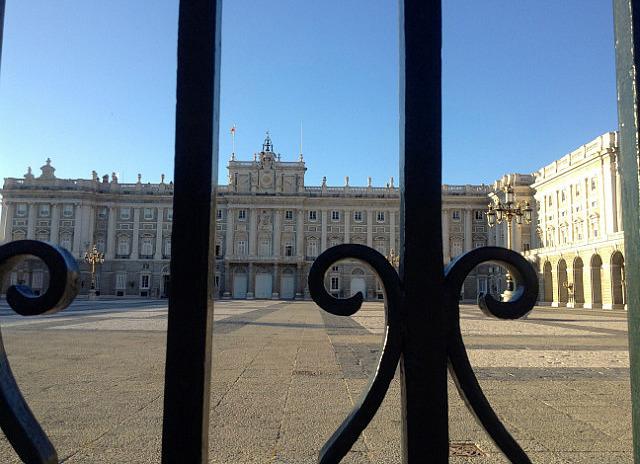 So looks like Buckingham Palace!