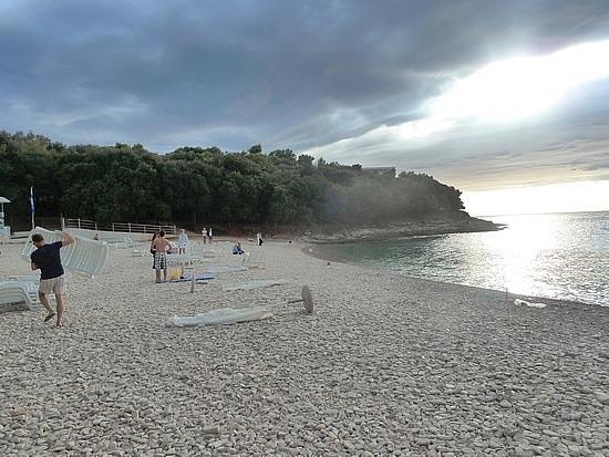 Verudella beach