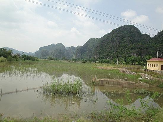 Beautiful karst mountains