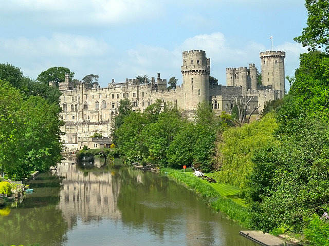 One of the prettiest castles in England