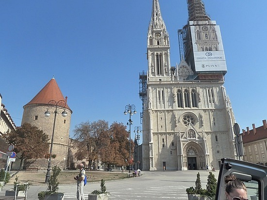 Cathedral and fortified walls
