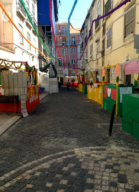 Post festival streets