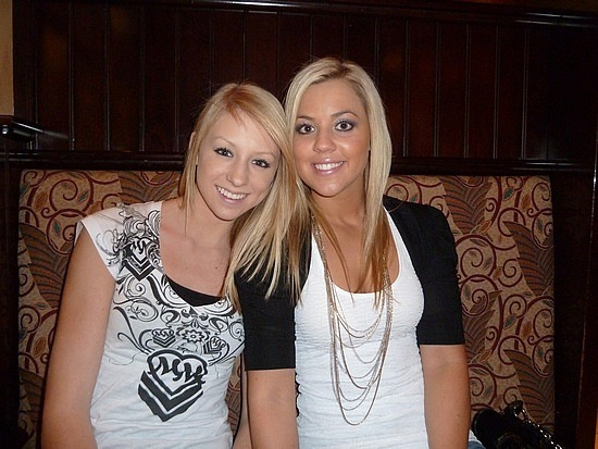 Lunch with Amanda & Jen