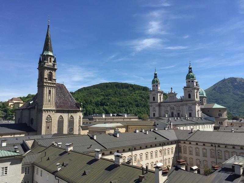 Spires of Salzburg