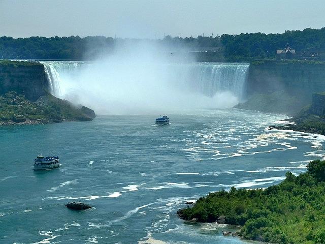 Horseshoe Falls from Canada side