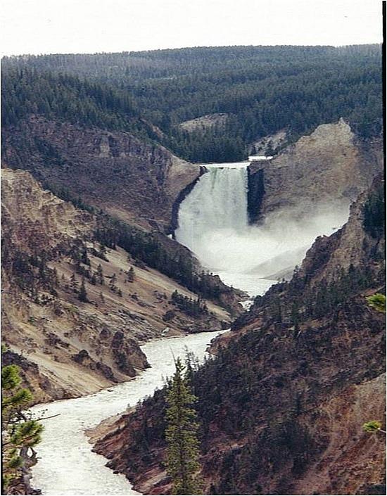 Waterfall & canyon